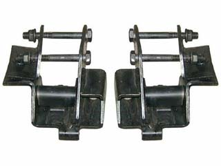 63-65 Falcon Motor Mount Conversion Brackets, V8, Pair